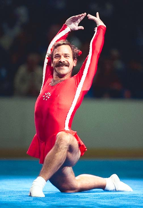 1980 Olympics… #WTFWednesday How did I miss this?  #PaulHunt – Oh yeah, #NadiaComanici and her perfect10
